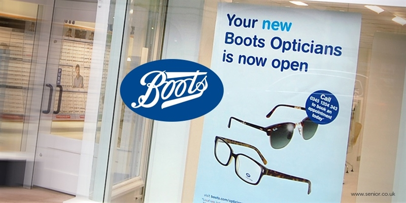 New launch~A new look for Boots Opticians Franchise's new site!